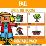Write the room- Part of Speech- Fall Edition