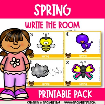 Write the room- Parts of Speech- Spring Edition