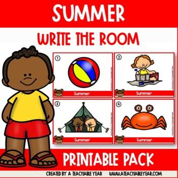 Write the room- Part of Speech- Summer Edition