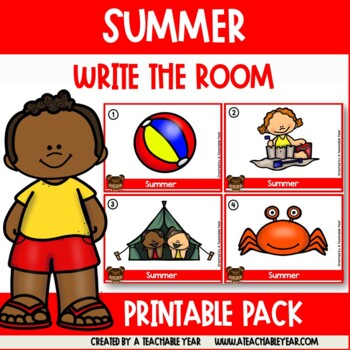 Write the room- Parts of Speech- Summer Edition