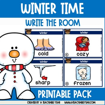 Write the room- Part of Speech- Winter Edition