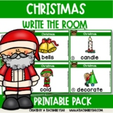 Write the room- Parts of Speech- Christmas Edition