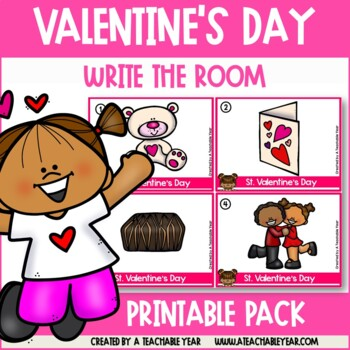Write the room- Parts of Speech- St. Valentine's Day Edition