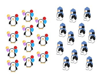 Write the room Penguin numbers 11-20