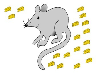 Write the room counting 0-30 Mouse ESL COMMON CORE