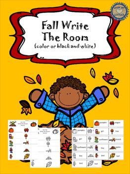 Write the room fall theme