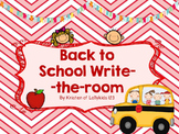 Write the room for back to school