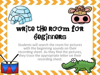 Write the room for beginners