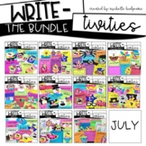 Writing Prompts BUNDLE   Writing Activities for the Entire Year