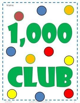 Write to 1,000; Write to 2,000