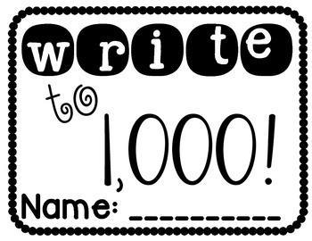 Write to 1,000