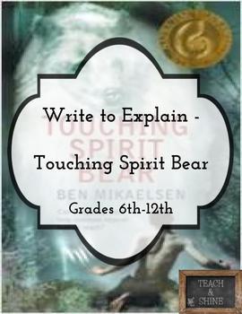 Write to Explain - Touching Spirit Bear