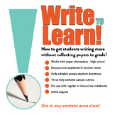 Write to Learn! An Easy Process for Managing Writing Notebooks