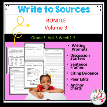 Write to Sources Volume 3 Weeks 1-5
