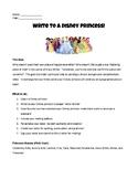 Write to a Disney Princess!