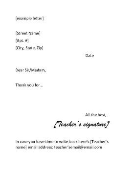 Write to a Hero Veteran's Day Thank You Letter Project