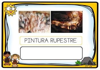 Write vocabulary PREHISTORY (SPANISH)  Escritura vocabulario PREHISTORIA español