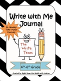 Writing Prompts: Write with Me Journal {Common Core Aligned}