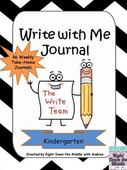 Write with Me Journal {Kindergarten CCSS Aligned}