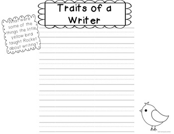 """Write with a Puppy! {Common Core activities for """"Rocket Writes a Story""""}"""