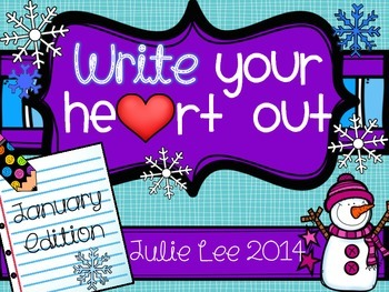 Write you Heart Out January Edition Writing Center
