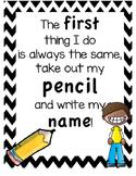 Write your Name Jingle