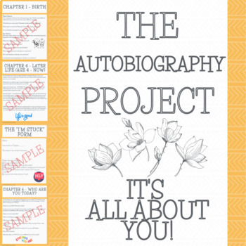 Write your own AUTOBIOGRAPHY project!
