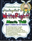 WriteRight!  Daily Writing Drills Month TWO {Common Core Aligned}