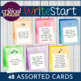 WriteStart Freewriting and Discussion Inspiration Task Cards: Set of 48