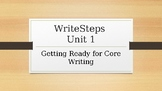 WriteSteps Writing-Unit 1 - Grade 5