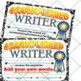 Writer Certificate 1