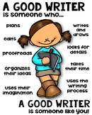 Writer Poster [someone who]