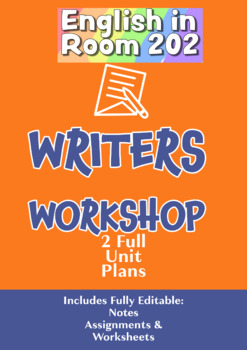 Writer Workshops Unit plans