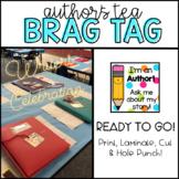 Writer's Celebration Brag Tags