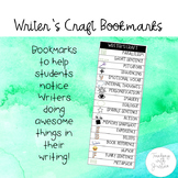 Writer's Craft Bookmarks