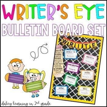 Writer's Eye Bulletin Board Set