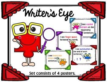 Writer's Eye Posters