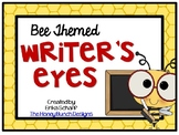 Writer's Eyes Bee Themed Posters