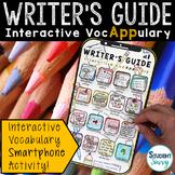 Writer's Guide Interactive VocAPPulary™ - Writing Vocabula