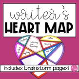 Writer's Heart Map