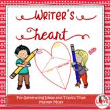 Writer's Heart Template