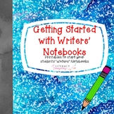 Writer's Notebook--Printables to Launch Student Writers' N