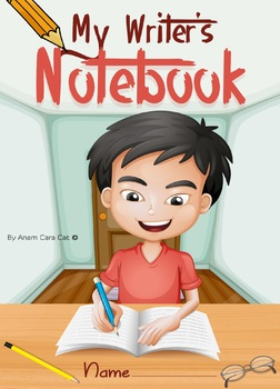 Writer's Notebook: A Entire Year's Writing Prompts & Activities!  BIG BUNDLE!