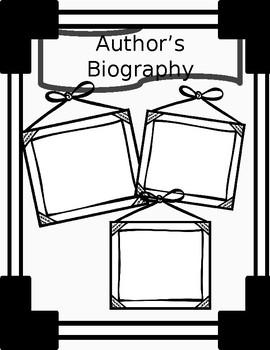 Writer's Notebook Brainstorming Graphic Organizers
