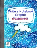 Writer's Notebook Brainstorming Graphic Organizers