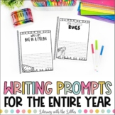 Writer's Notebook Bundle   Journal Pages and Writing Promp
