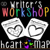 Writer's Notebook Heart Map