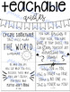 Writer's Notebook Ideas & Organization FREEBIE