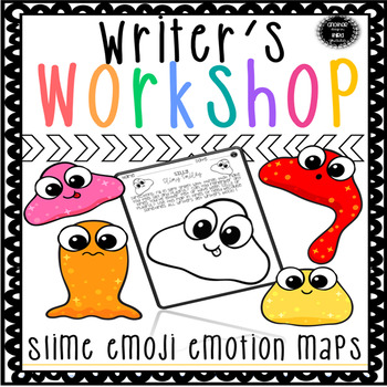 Writer's Notebook Ideas and Organization Slime Emojis