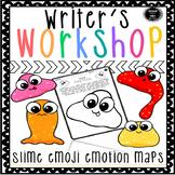 Writer's Notebook Ideas and Organization Slime Emojis